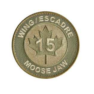 15 Wing Moose Jaw Circular Patch
