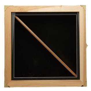 Wood Shadow Box Solid Maple