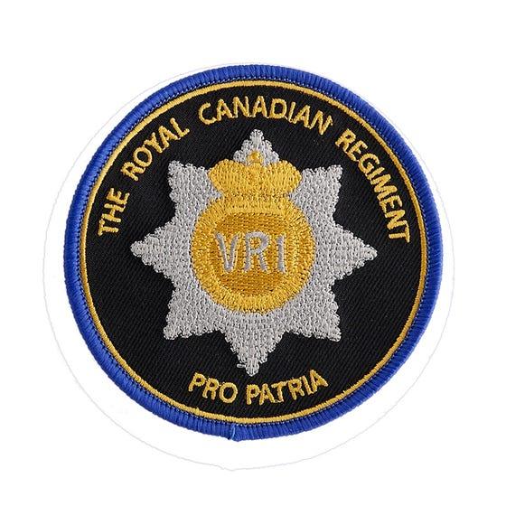 RCR RHQ Patch - Pro Patria