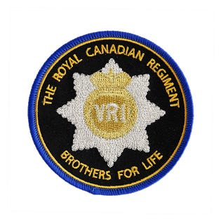 RCR RHQ Patch - Brothers For Life