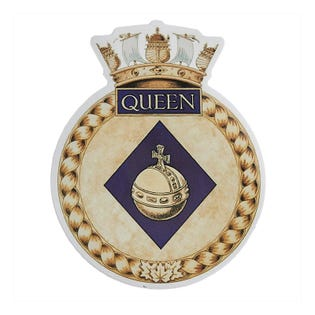 HMCS Queen Sticker