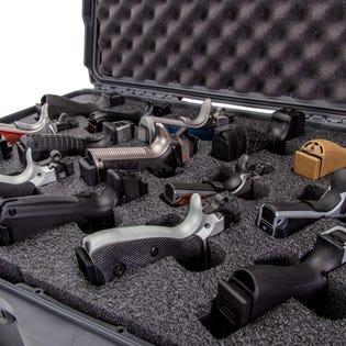 Mallette pour pistolets avec mousse 95015Up de Nanuk, noir (EA1)