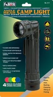 Angle Head Camp Flash Light