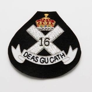C Scot R Officer Blazer Crest