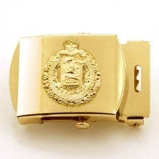 LdSH(RC) Brass Belt Buckle With Crest
