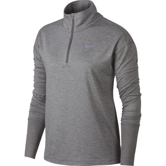 NIKE Women's Element Half Zip Long Sleeve T-shirt