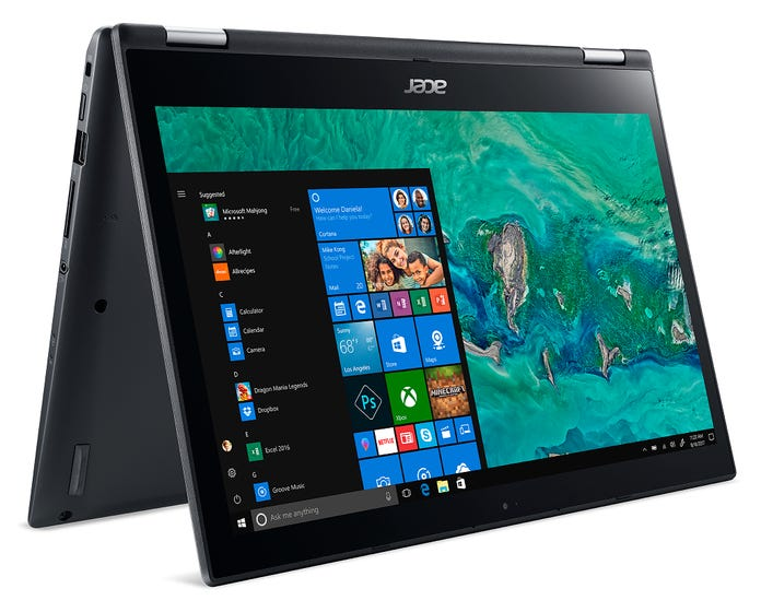 """ACER Spin Convertible 14"""" Notebook"""