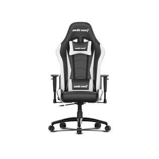 Chaise de jeu Anda Seat Axe Series - Noir et Blanc AD5-01-BW-PV-W02 (EA1