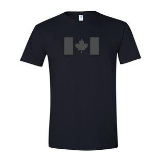 Canada Flag T-Shirt-Black