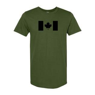 Canada Flag T-Shirt - Green