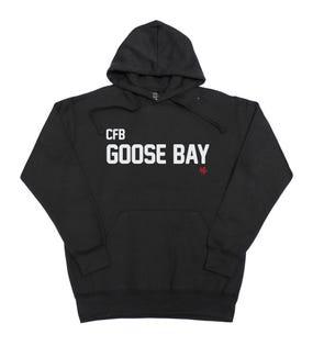 Chandail à capuchon unisexe de la CFB Goose Bay