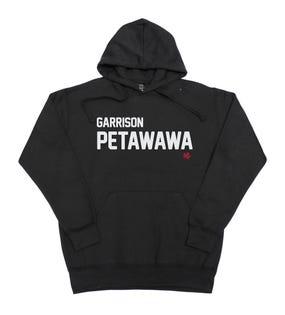 Chandail à capuchon unisexe de la Garrison Petawawa