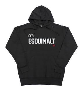 Chandail à capuchon unisexe de la CFB Esquimalt