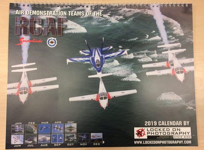 Air Force Calendar 2019