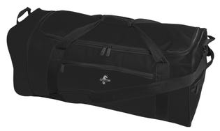 ATLANTIS Duffle Bag Foldable Rolling Black