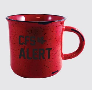 CFS Alert Ceramic Mug