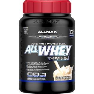 Allmax AllWhey Poudre de protéines Vanille classique 2lb