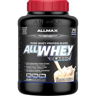 Allmax AllWhey Poudre de protéines Vanille classique 5lb
