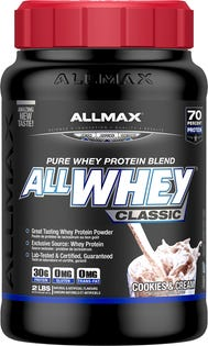 ALLMAX ALLWHEY CKIES AND CRM 907G