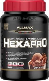 ALLMAX Hexapro Protein Powder - Chocolate 1.36kg