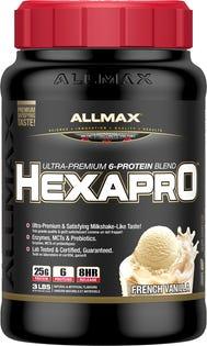 ALLMAX Hexapro Protein Powder - Vanille 3lb