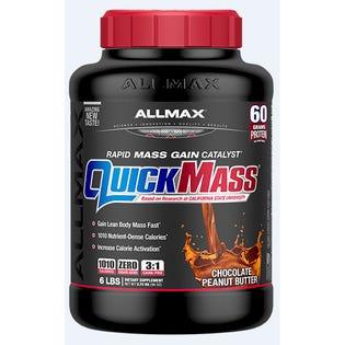Allmax Quickmass Poudre de protéines Beurre d'arachide au chocolat 6lb