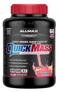 ALLMAX Quickmass Protein Powder - Strawberry Banana 6lb