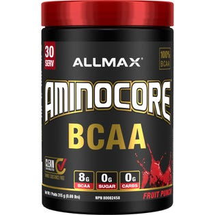 Allmax AminoCore Fruit Punch 315g