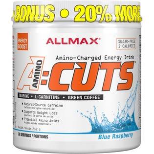 Allmax Amino Cuts Framboise Bleu 252g