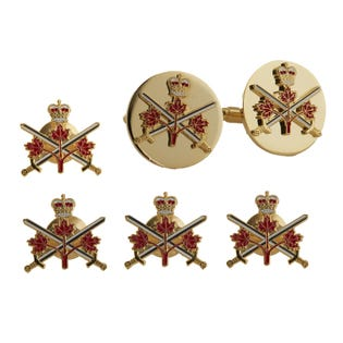 ARMY Stud and Cufflink Set