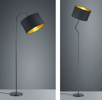"ARNSBERGE Hostel Lamp 63"" Black"