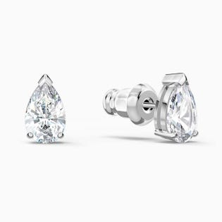 Swarovski Attract Pear Stud Pierced Earrings