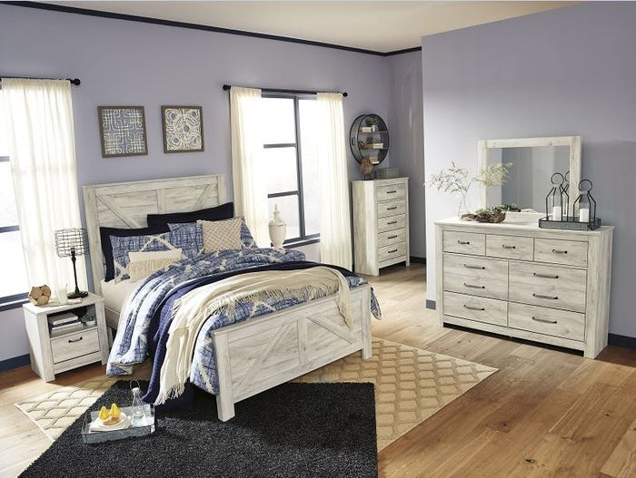 Ashley Queen Panel Footboard Bellaby