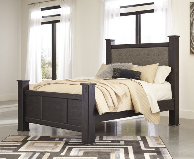 Ashley Queen Poster Footboard Reylow