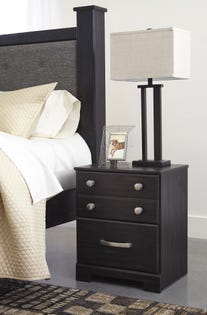 ASHLEY Two Drawer Night Stand Reylow