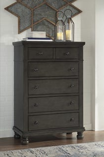 ASHLEY Five Drawer Chest Devensted