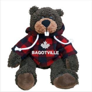 "Bagotville Beaver Plush 10"""