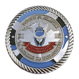 Battle of the Atlantic 75th Coin