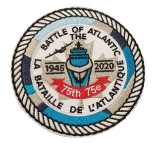 Battle of the Atlantic 75th Badge