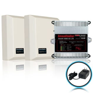 Smooth Talker Stealth X6 Remote Home Booster Kit Panel BBCX660GP (EA1)