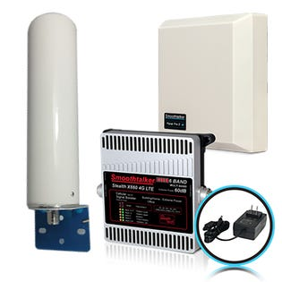Smooth Talker Stealth X6 4G/5G Remote Home Booster Kit BBCX660GTP (EA1)