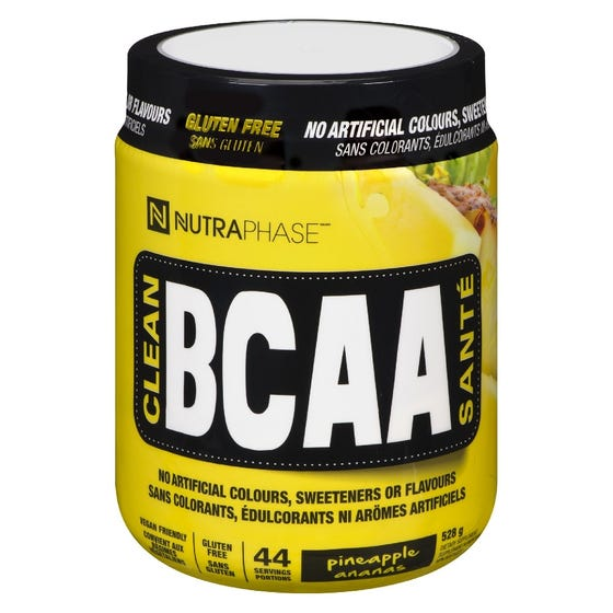 Nutraphase BCAA - Pineapple 44 Servings