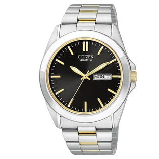 Citizen Men's Quartz Watch Stainless Steel Two-Tone BF0584-56E (EA1)