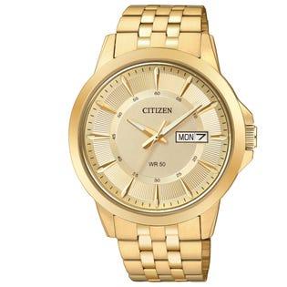 Citizen Men's Quartz Watch Stainless Steel Gold BF2013-56P (EA1)