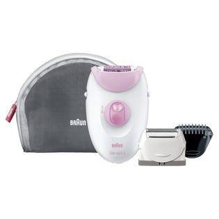 Braun Silk-épil 3 Leg and Body Epilator Hair Removal Pink 3270