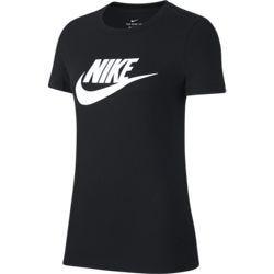 Nike Women's Sportswear Essential Icon T-Shirt Black