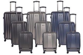 Club Rochelier Luggage 3 Piece Set/20/24/28 Grey CRL1422-020 (EA1)