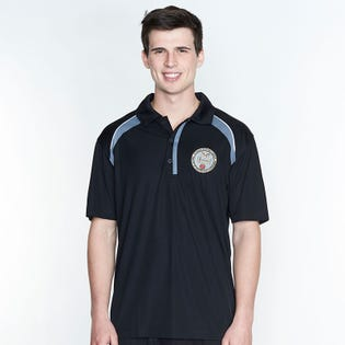 3 CDSG Two Tone Men's Polo