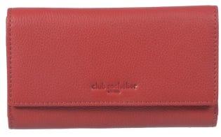 Club Rochelier Medium Full Leather Ladies Clutch - Red CL11066-97-600 (EA1)