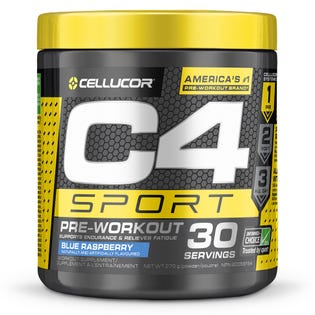 Cellucore C4 Sport Pre-Workout Blue Razz 30 Servings